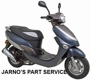 TURBHO CX-50 SNOR-SCOOTER ANTRACIET 25KM