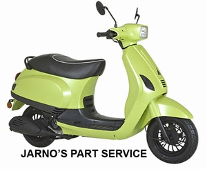 TURBHO RV-50-B ( MODEL S ) SNOR-SCOOTER-LIME 25KM