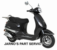 TURBHO RL-50 ( MODEL LX ) SNOR-SCOOTER ZWART 25KM