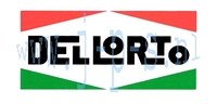 DELLORTO STICKER MIDDEL 50x100 MM