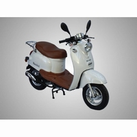 BERINI DOLCE VITA RETRO-LOOK BROM-SCOOTER WIT 45KM