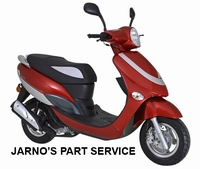 TURBHO CX-50 BROM-SCOOTER  ROOD 45KM