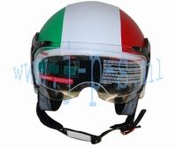JETHELM NOW ITALIAN LEATHER LOOK MAAT M