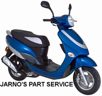 TURBHO CX-50 BROM-SCOOTER BLAUW 25KM