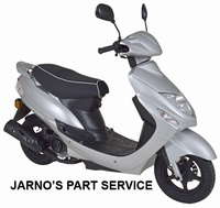TURBHO CS-50-B  BROM-SCOOTER ZILVER 45KM