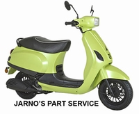 TURBHO RV-50-B ( MODEL S ) BROM-SCOOTER-LIME 45KM
