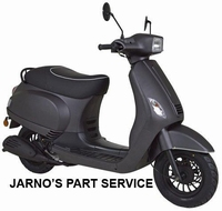 TURBHO RV-50-B ( MODEL S ) SNOR-SCOOTER MAT-ANTRACIET 25KM
