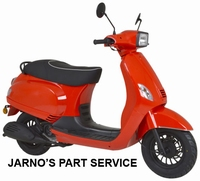 TURBHO RV-50-B ( MODEL S ) SNOR-SCOOTER ROOD 25KM