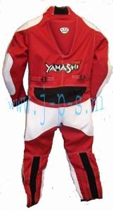YAMASHI MINIBIKE / SPRINT PAK ROOD/WIT TEENER  M