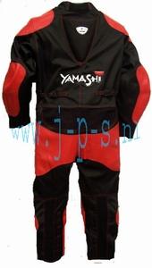 YAMASHI MINIBIKE / SPRINT PAK ZWART/ROOD KIDS  XXS