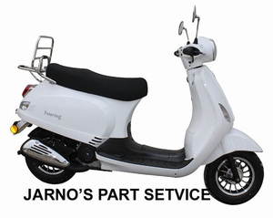 XINIX TOURING ( MODEL LX ) SNOR-SCOOTER WIT 25KM