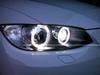 BMW H8 XENON LOOK ANGEL EYE LAMPENSET 8500K SUPER WIT