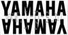 YAMAHA ,,NAAM'' STICKERSET 320 X 75 MM (2 STUKS) ZWART