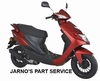 TURBHO CD-50 BROM-SCOOTER MAT ROOD 45KM EURO 4
